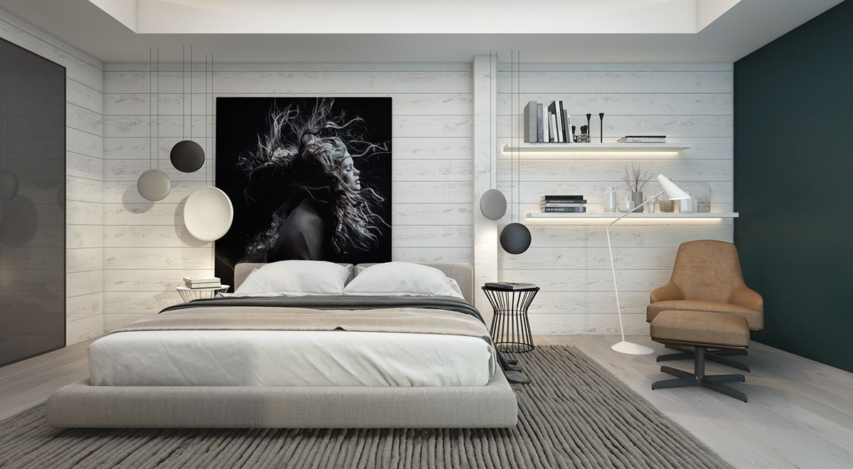 Gorgeous Dark Bedroom Designs With Minimalist And Playful Approach Themes  Decor To Inspire Sweet Dreams | Dark, Bed Headboards And Modern