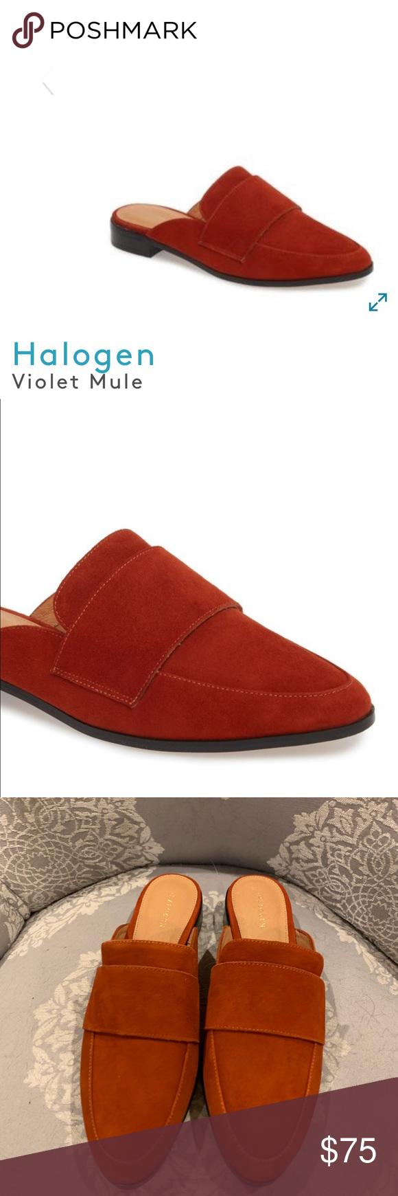 0c599804cab3 NWOT Halogen Suede Mules Size: 7 1/2 Designer: Halogen @ Nordstrom Color