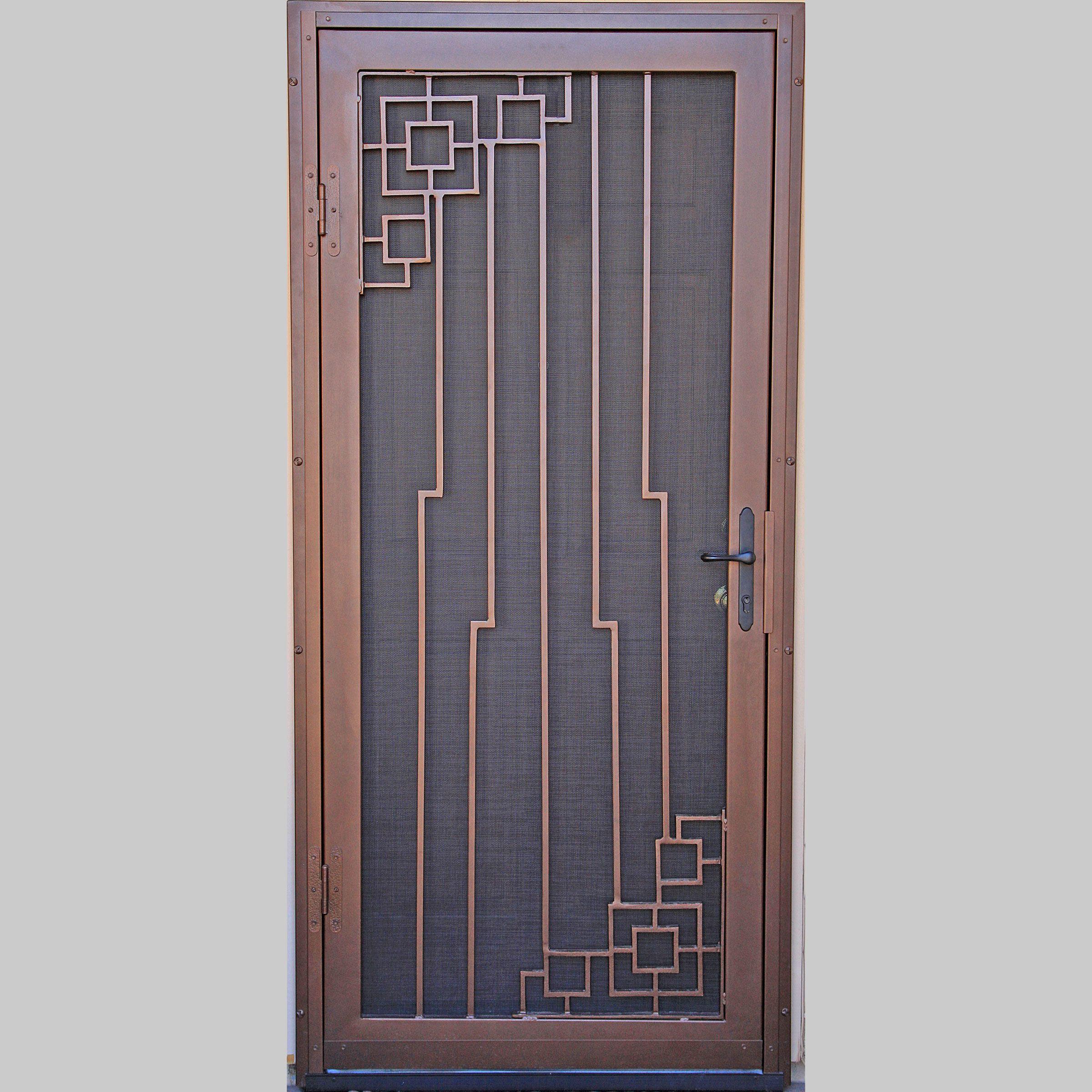 Delta First Impression Security Doors Security Screen Door Door Gate Design Metal Screen Doors