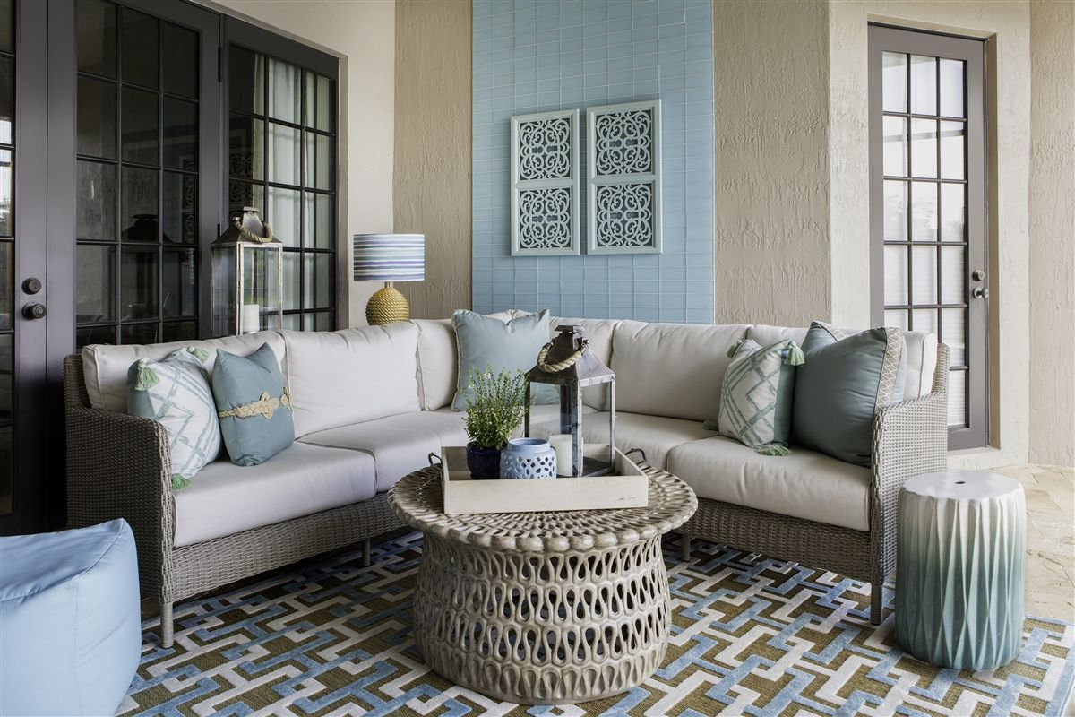 Aqua Living Room Decorating Ideas Gorgeous Lounge Wohnzimmer Indoor Outdoor Rug Portera Aqua 43 Tan Size Options
