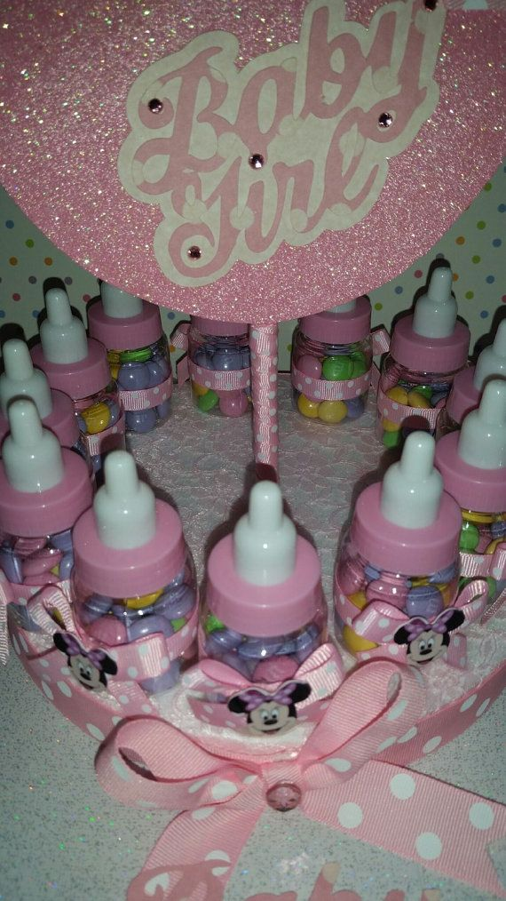 Bebé Minnie Mouse inspirado centro de mesa de por SOUTHFLOWER
