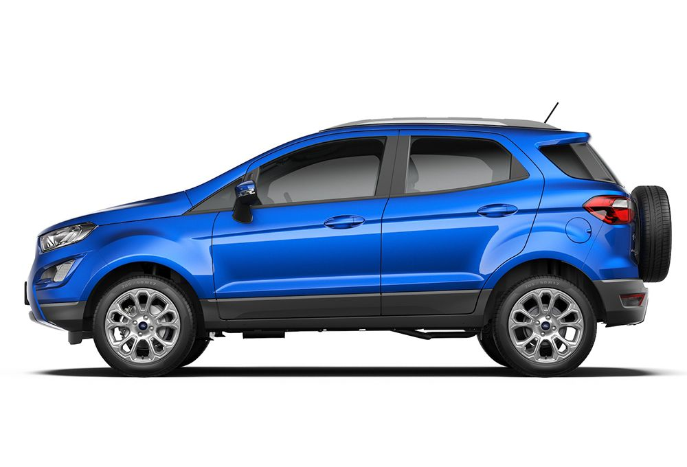 Ford Ecosport Facelift Launched In India At Inr 7 31 Lakhs Ford