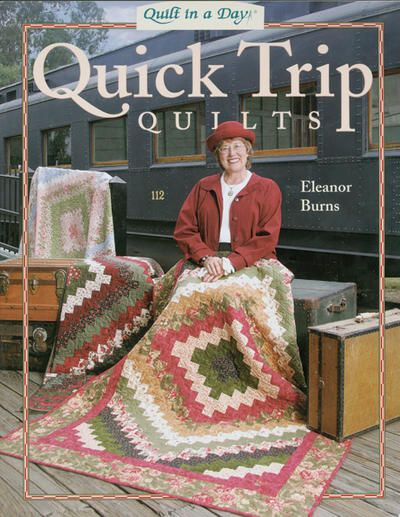 Learn to make quick strip quilts using these charming around the world quilt patterns. You'll be surprised at how short the process is, which means you'll have a new quilt pattern to have in your home in no time! $16.11