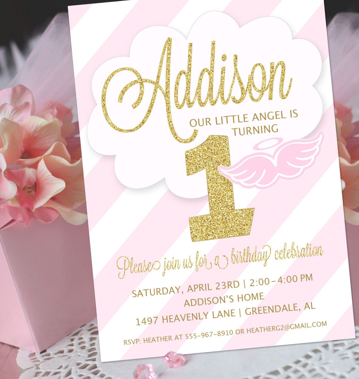 joint1stbirthdayandchristeninginvitations baptism invitations