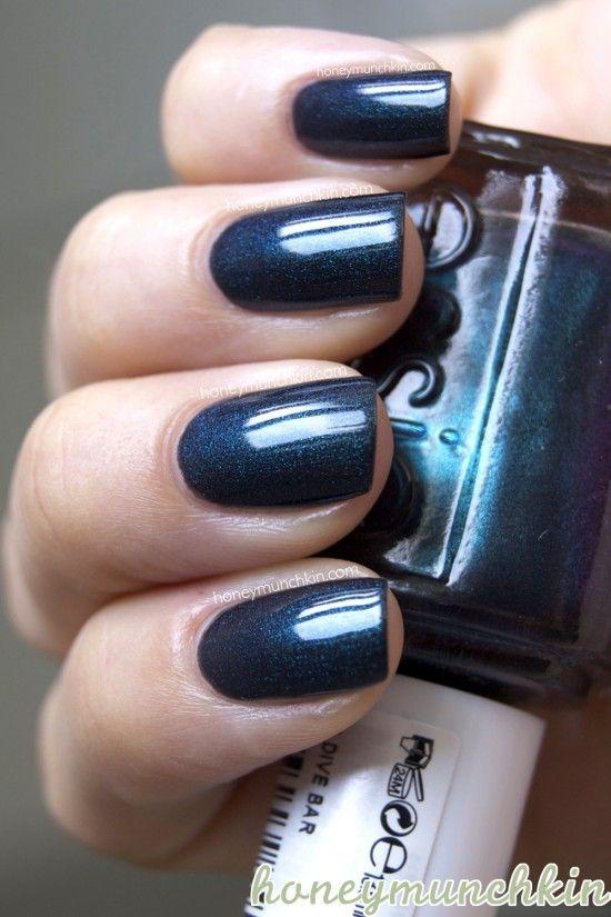Essie - Dive Bar #nailpolish   Nail polish: my teals   Pinterest ...