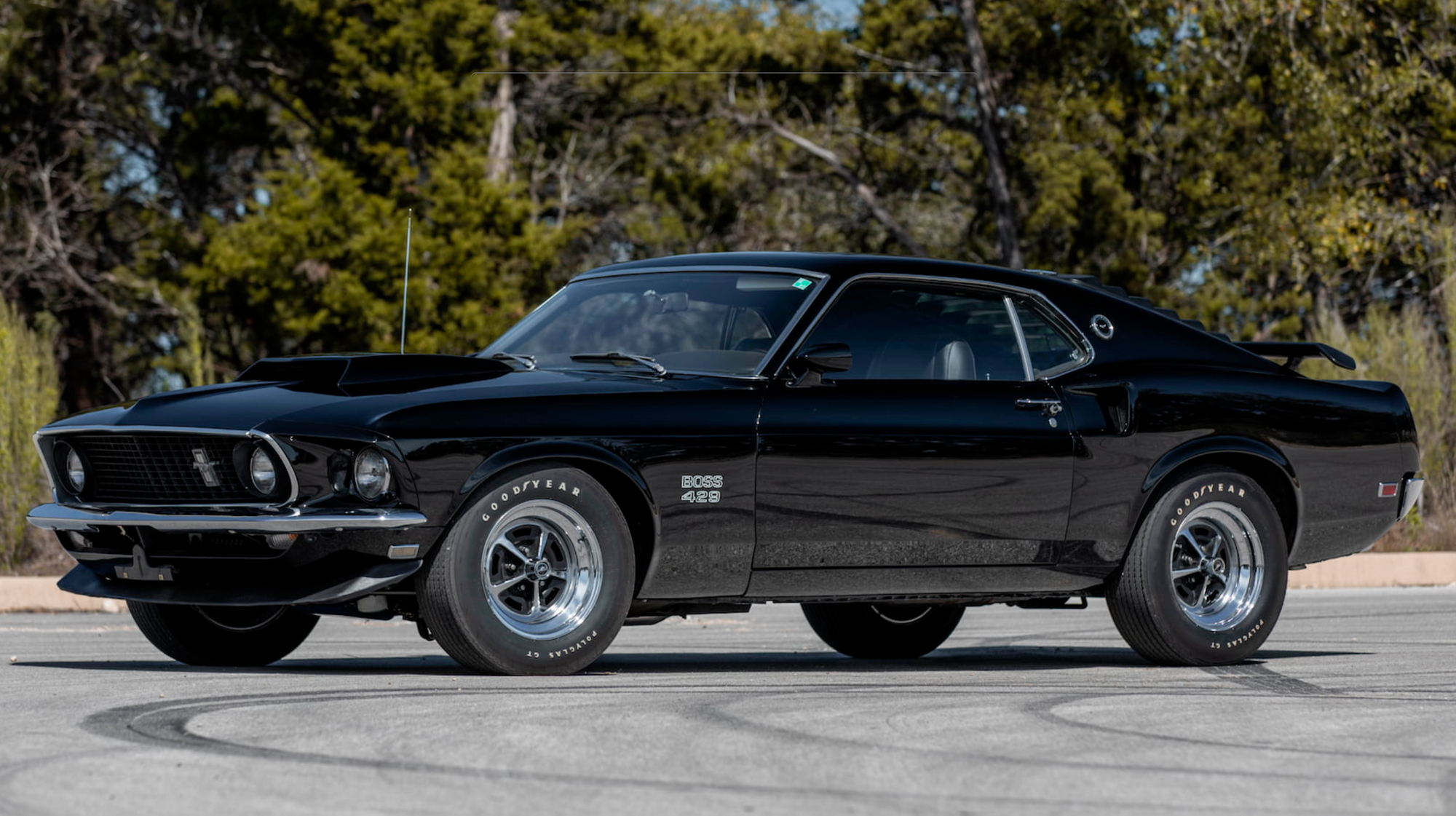 1969 Ford Mustang Boss 429 Owned By Paul Walker Heading To Mecum In 2020 Ford Mustang Boss Mustang Boss Ford Mustang