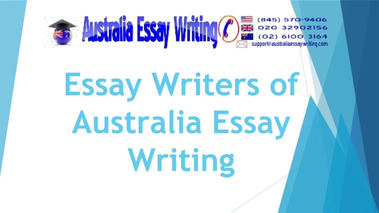 Essay writing companies in australia