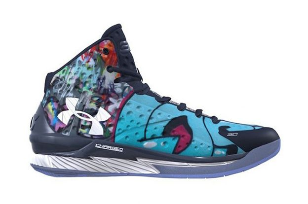 Under Armour Curry 1 customize UA ICON