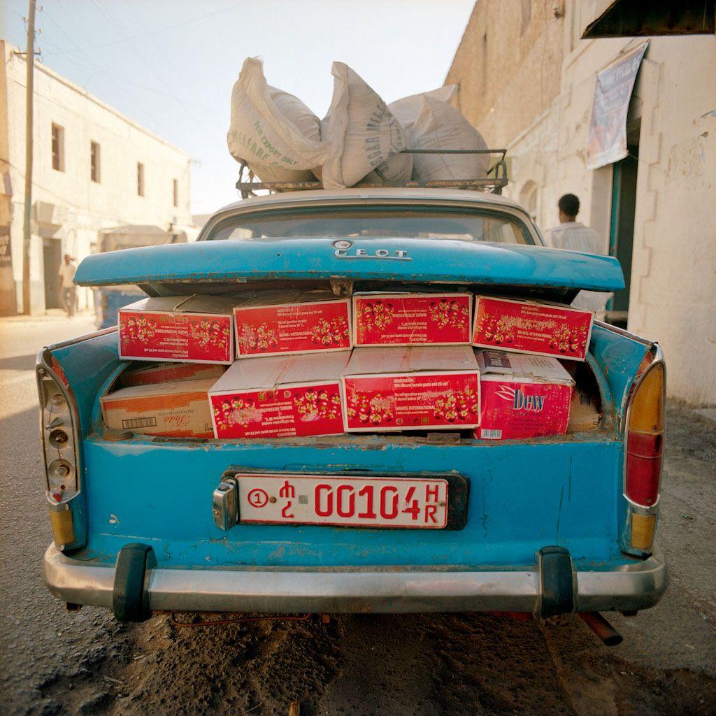 Harar Éthiopie 2013 (170x170cm) ©Raymond Depardon / Magnum Photos