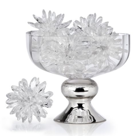 Wonderful Crystal Flower Sphere From Z Gallerie. Stylish Home DecorVase ... Photo Gallery