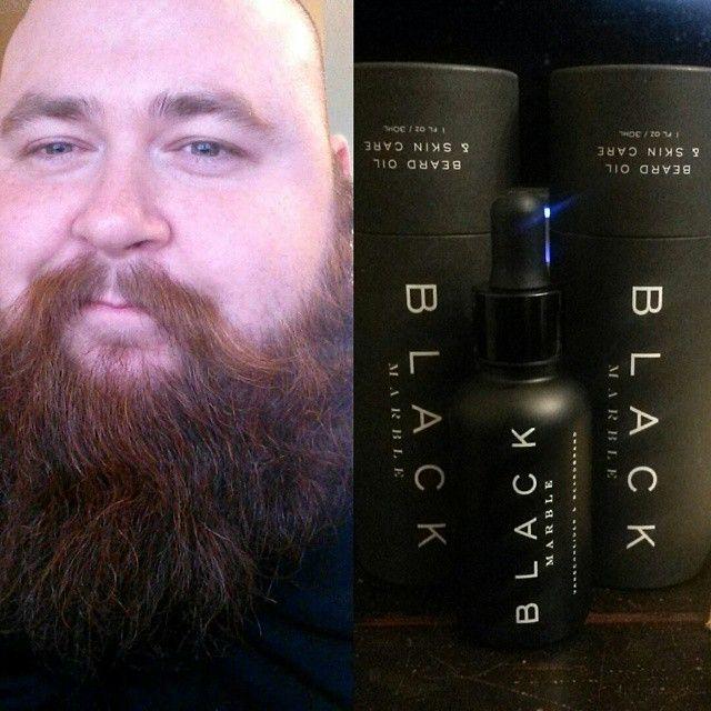 Allgreatmenhavebeards On Instagram Bliss Blackmarble Beardbrand Beardoil Beardedlifestyle Gloriousfuckingfacialfu Beard Oil Beardbrand Instagram Posts