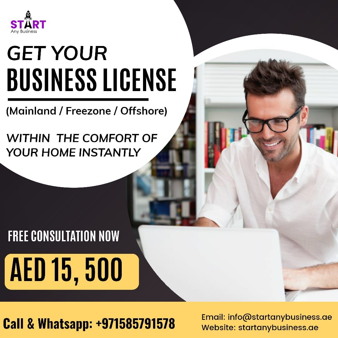 Business license Dubai