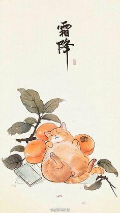 Самые милые нарисованные котики