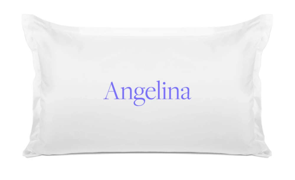 Traditional Personalized Pillowcase
