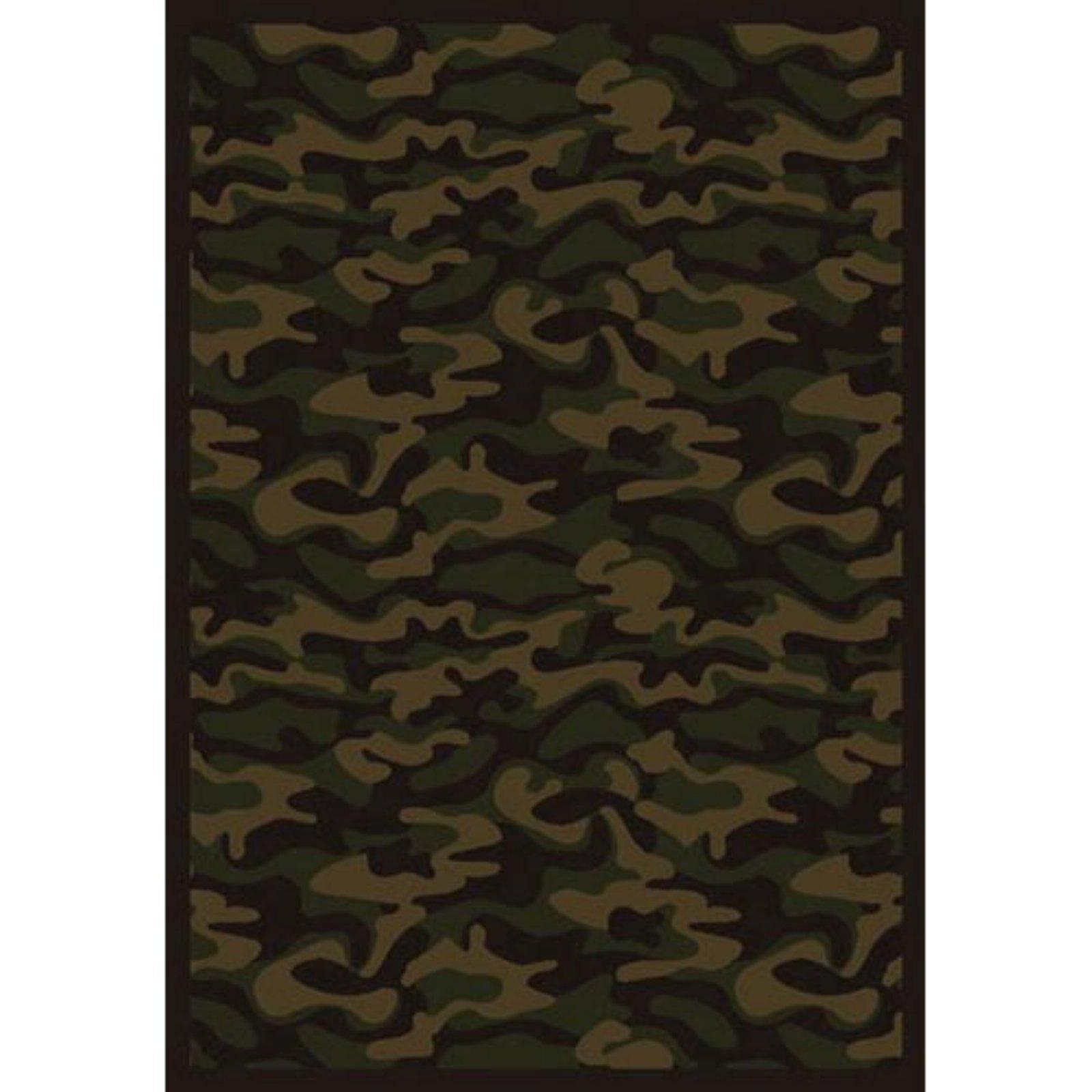 Best Joy Carpets Funky Camo Area Rug Dark Army In 2019 Rugs 640 x 480