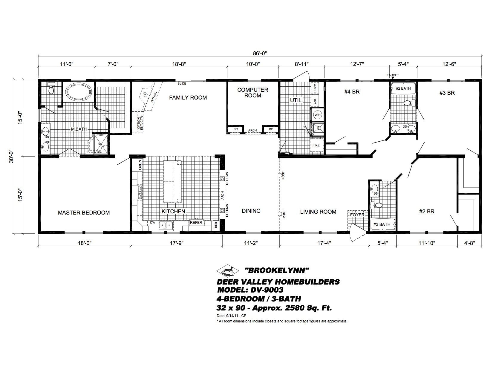 dv9003_14brochure.jpg (1650×1275) Modular home floor