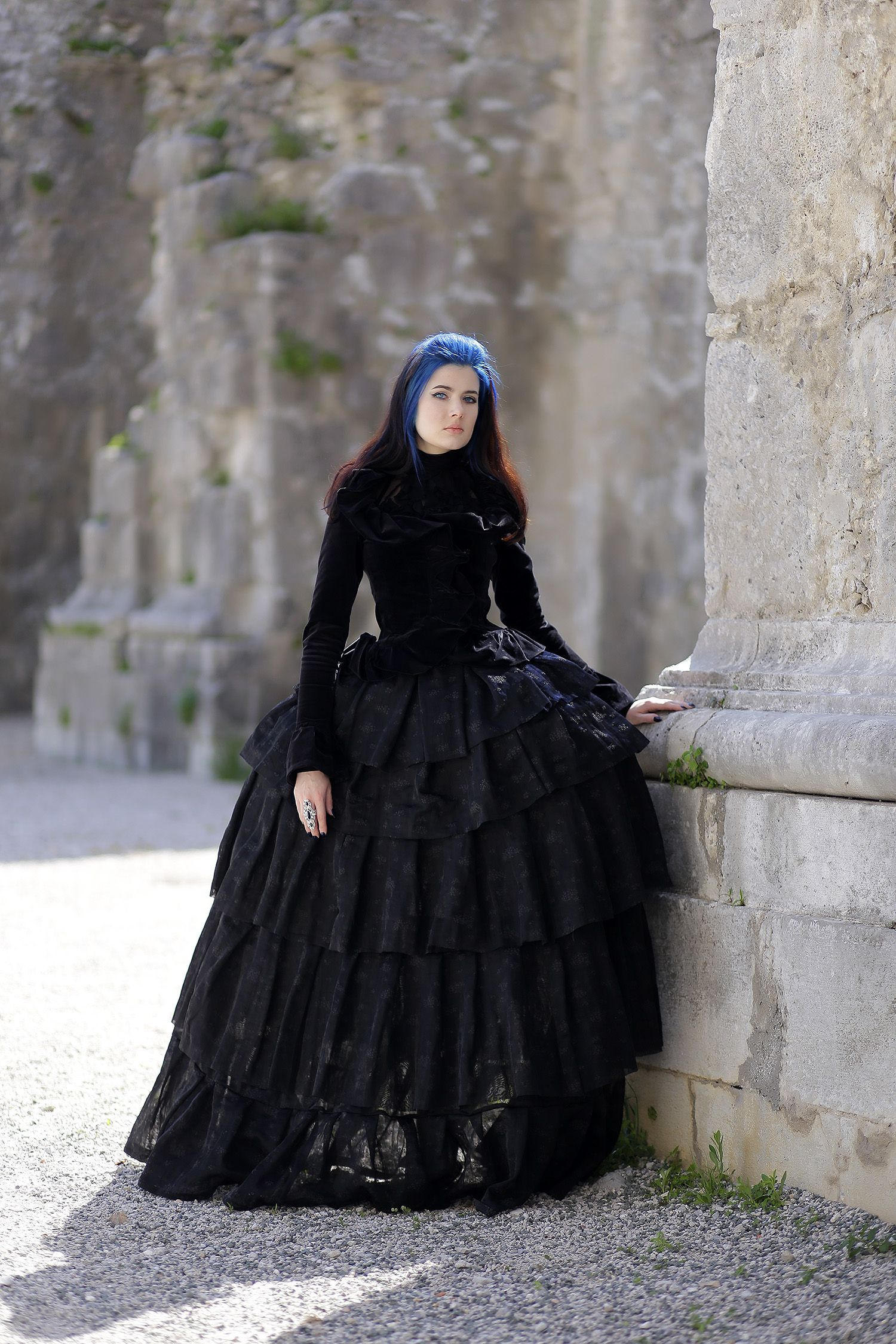 Gothic gown/ Baroque | Corsets | Pinterest | Gothic, Gowns and ...