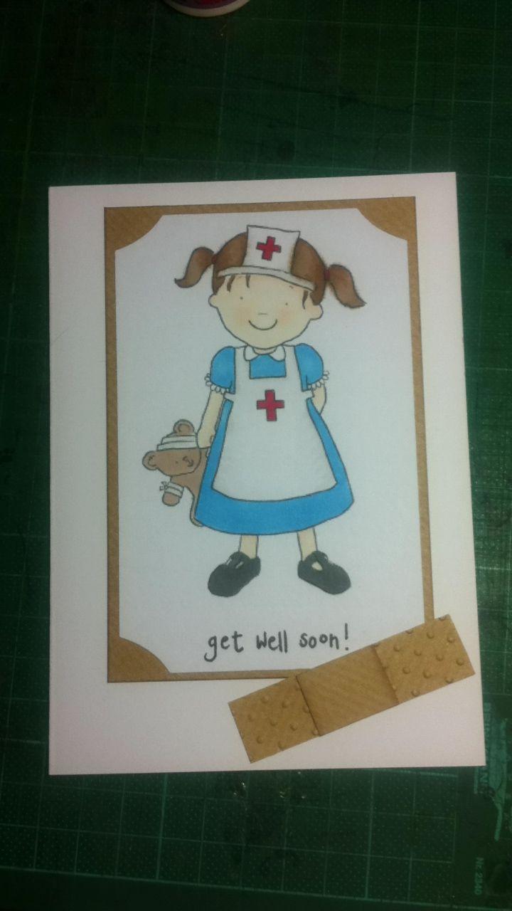 Cute get well soon card cards handmade cards get