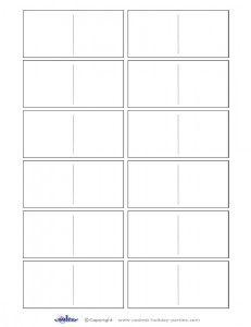 Blank Domino Pieces Work Activities Activity Ideas Crafts Templates Printable