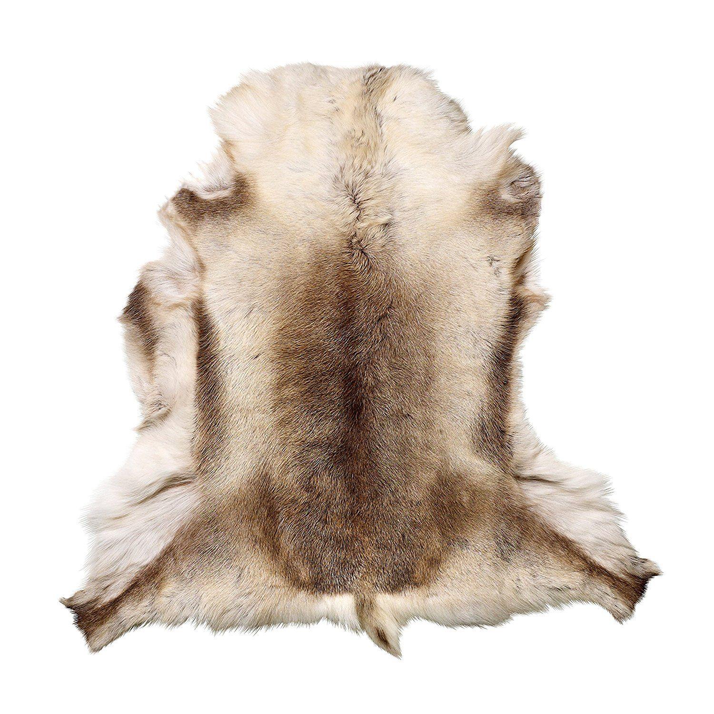 Reindeer Hide Floor Area Rug
