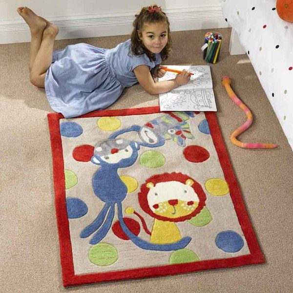 Kiddy Play Jungle Rug Online From