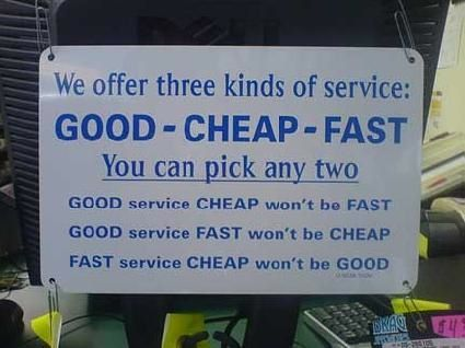 Service simplified