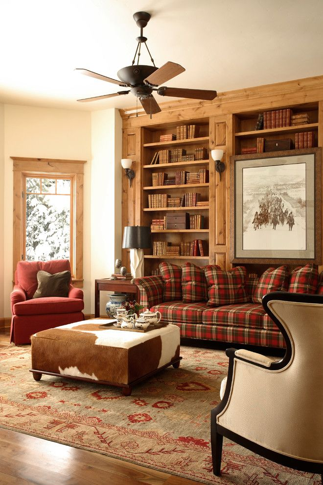 20 Stunning Rustic Living Room Design Ideas  Plaid Couch Brown Adorable Room Design Ideas For Living Rooms Decorating Design