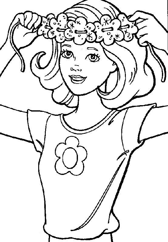 Barbie Coloring Page | Coloring Pages of Epicness | Pinterest ...