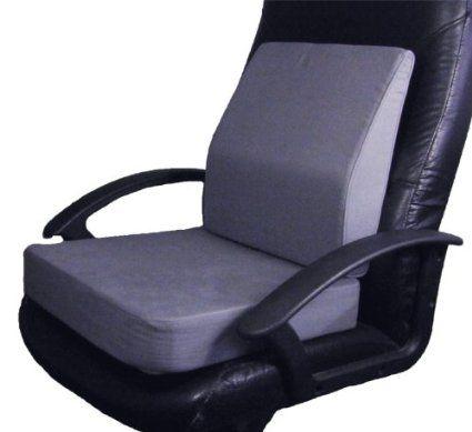 Extra Thick Memory Foam Dual Layer Seat Cushion Memory Foam Lumbar Wedge Back Support Posture Aid For Memory Foam Seat Cushion Cushions Office Chair Cushion