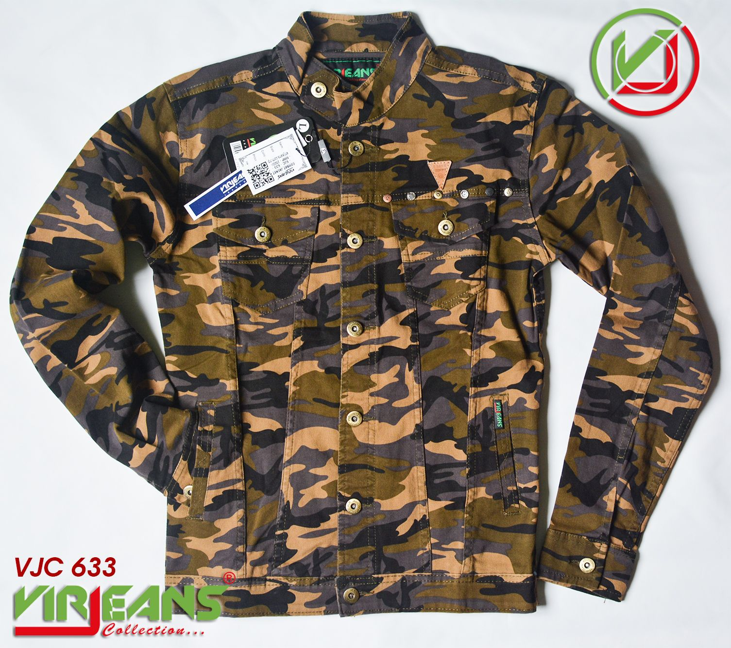 Virjeans Combat Jacket Available In Different Color Size Price