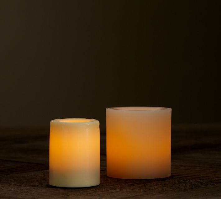 Pottery Barn Flameless Candles Captivating Pottery Barn Flameless Wax Votive Candleit's Amazing How Small