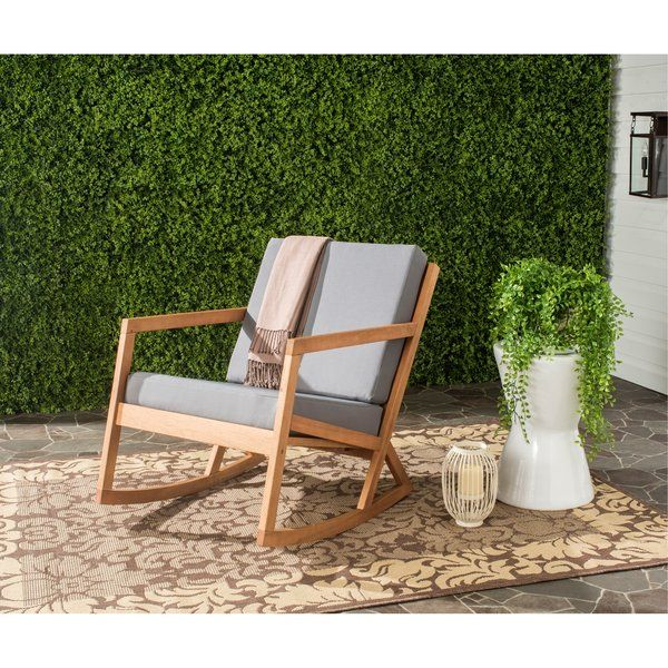 Camdenton Rocking Chair With Cushions