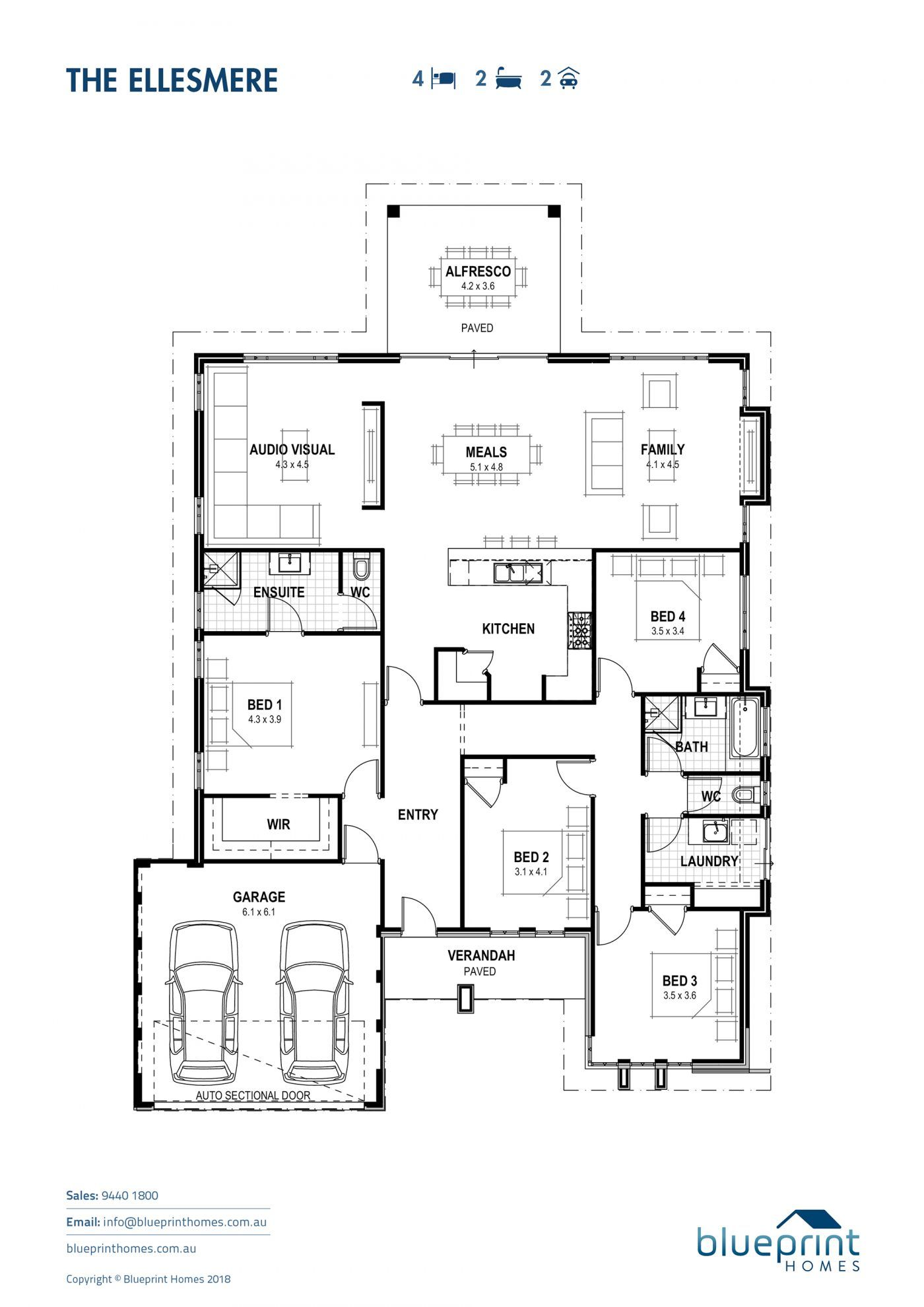 Home Designs Perth Blueprint Homes House Plans Home Builders House Design