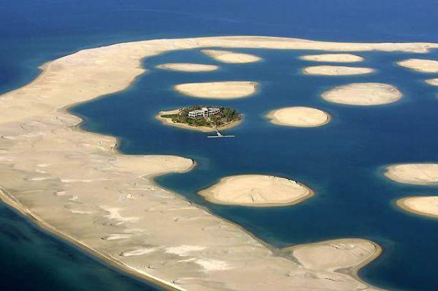 Man Made Islands in Dubai