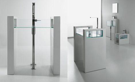 Glass Bathroom Suites by Ceramica GSG