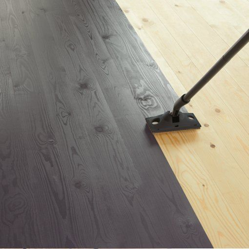 How (and When) to Paint Wood Floors is part of Painted wood floors, Painted hardwood floors, Old wood floors, Painted plywood floors, Painted wooden floors, Diy hardwood floors - Painting substandard wood floors is a good way to avoid having to replace them  Apply the paint with a roller or a paint pad