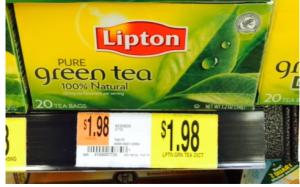 Lipton Green Tea Only $0.98 Per Box At Walmart ~ New | Get FREE Samples by Mail | Free Stuff