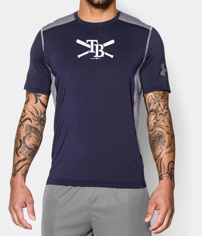78ccbb42b2721 Men s Tampa Bay Rays UA Raid T-Shirt