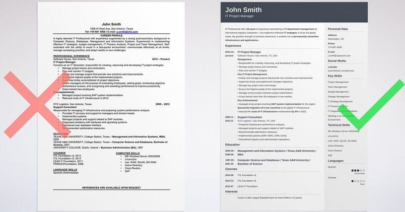 16 Free Tools To Create Outstanding Visual Resume Visual Resume Best Resume Template Downloadable Resume Template