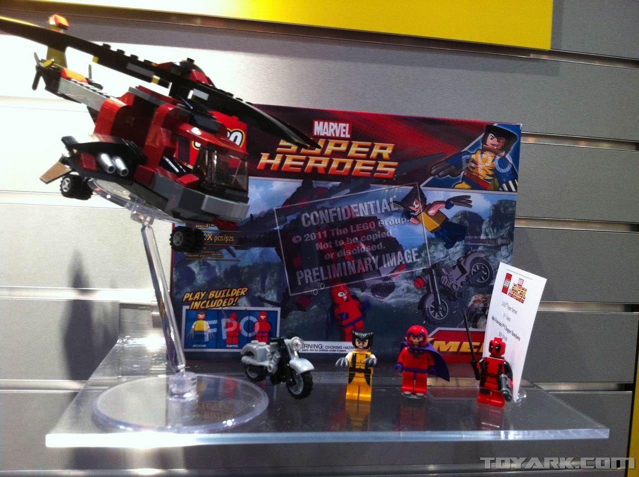 Lego Marvel Superheroes Wolverine's Chopper Showdown!