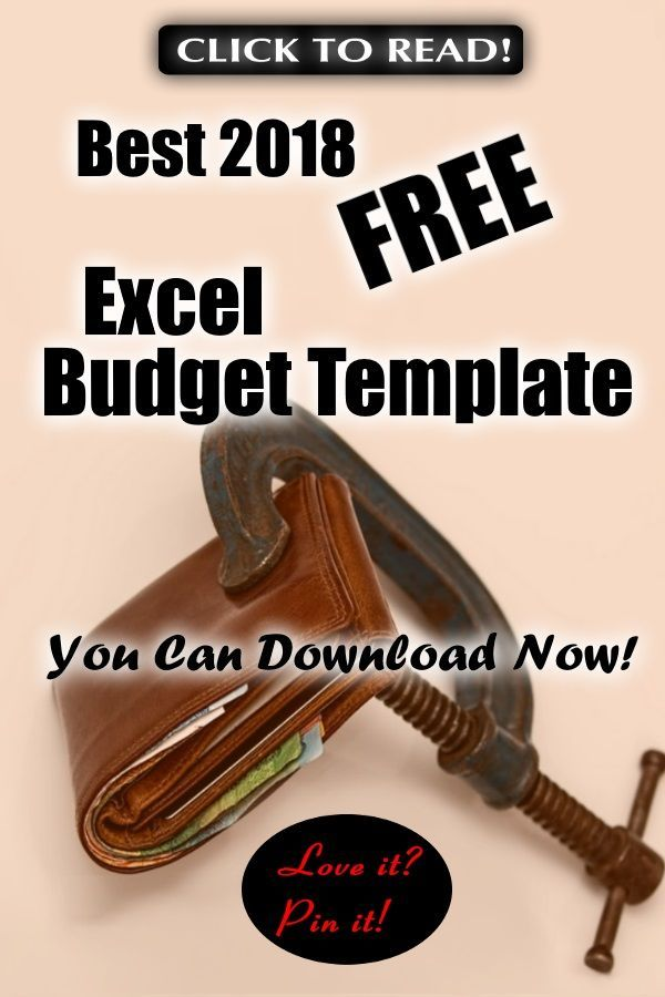Best 2018 Free Excel Budget Template You Can Download Now - budget spreadsheet free download
