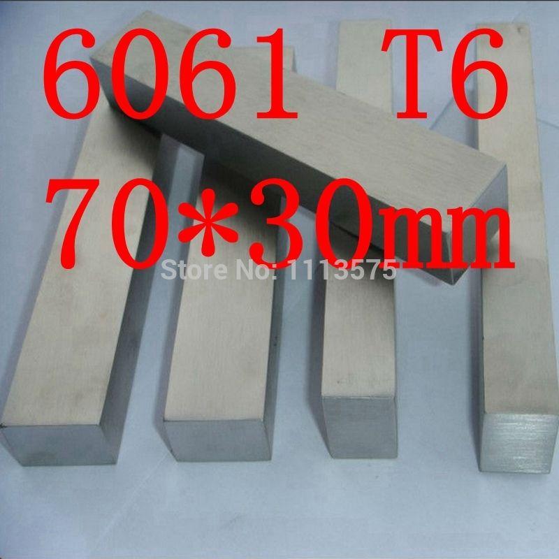 Дешевое 70 мм x 30 мм алюминий плоским бар, 70 * 30 мм, ширина 70 мм, толщина 30 мм, 6061 T6, Купить Качество Пруты алюминиевые непосредственно из китайских фирмах-поставщиках:  Товар: 6061 T6 алюминиевый плоский бар  Ширина: 70 мм  Толщина: 30 мм  Длина: 1 м/pc, как это требуется или