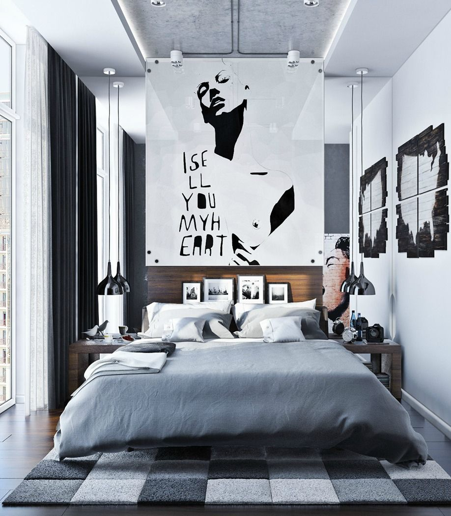 57 Awesome Design Ideas For Your Bedroom Loombrand Urban Bedroom Urban Rooms Interior Design Bedroom