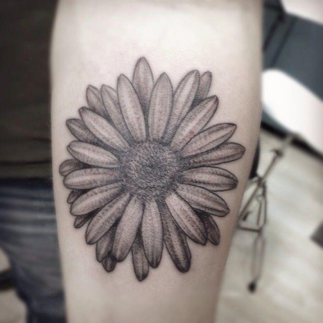 35233957b734b daisy tattoo - Google Search | Tattoos | Daisy flower tattoos ...