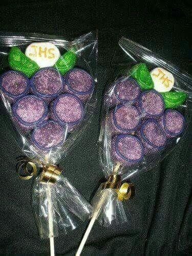recuerdos de primera comunion con bombones