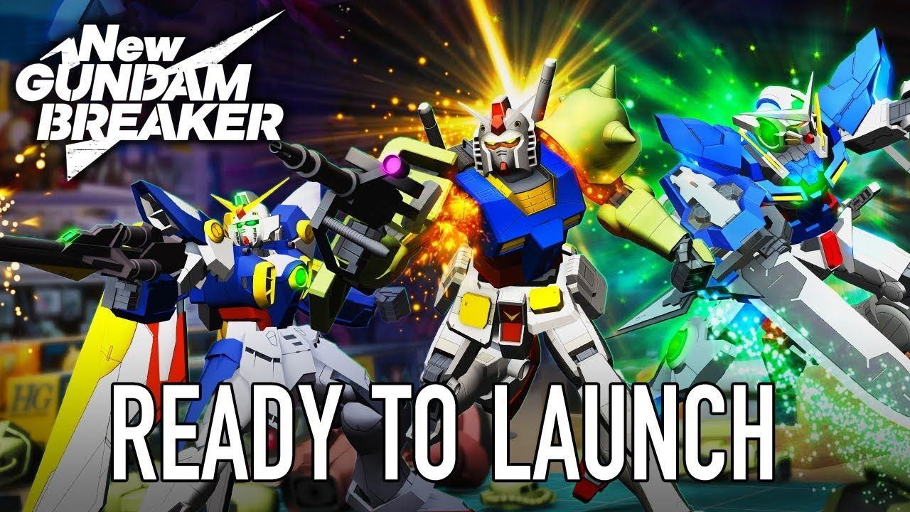 New Gundam Breaker PS4/PC Ready to launch (Release