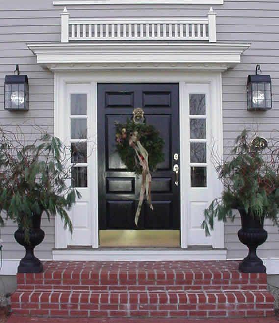 Elegant New England Cottage Decor Farmhouse Colonial House Spanish Colonial Homes