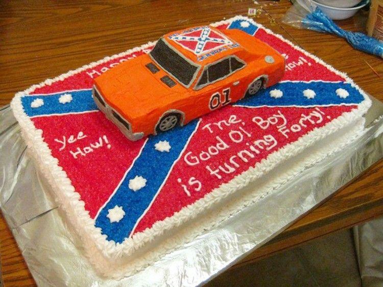 Dukes Of Hazzard General Birthday Cakes Picture In Birthday Cake