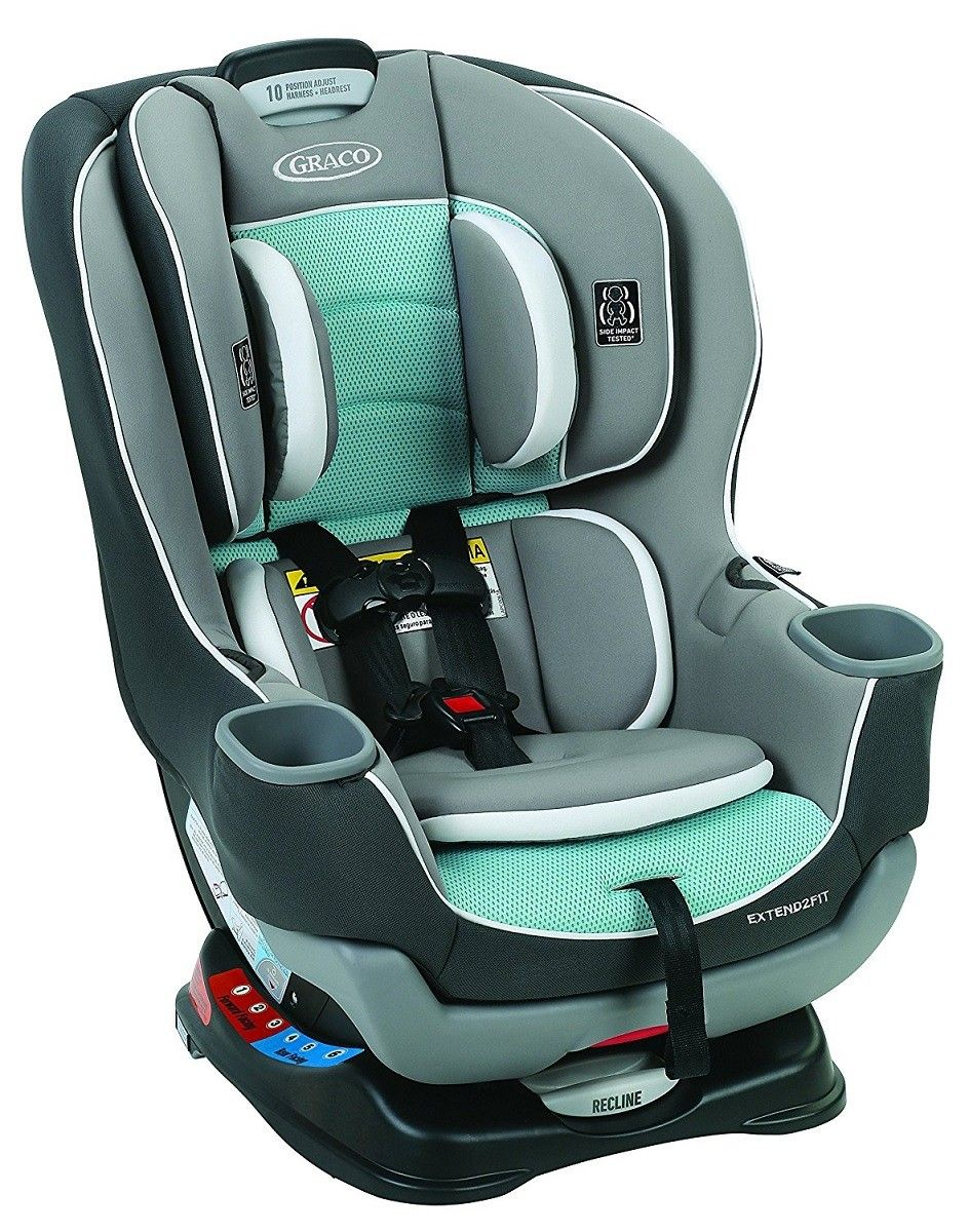 Safely Keep Your Little One In A Rear Facing Car Seat Until Hes 2 Years Old With The Innovative Graco Extend2Fit Convertible