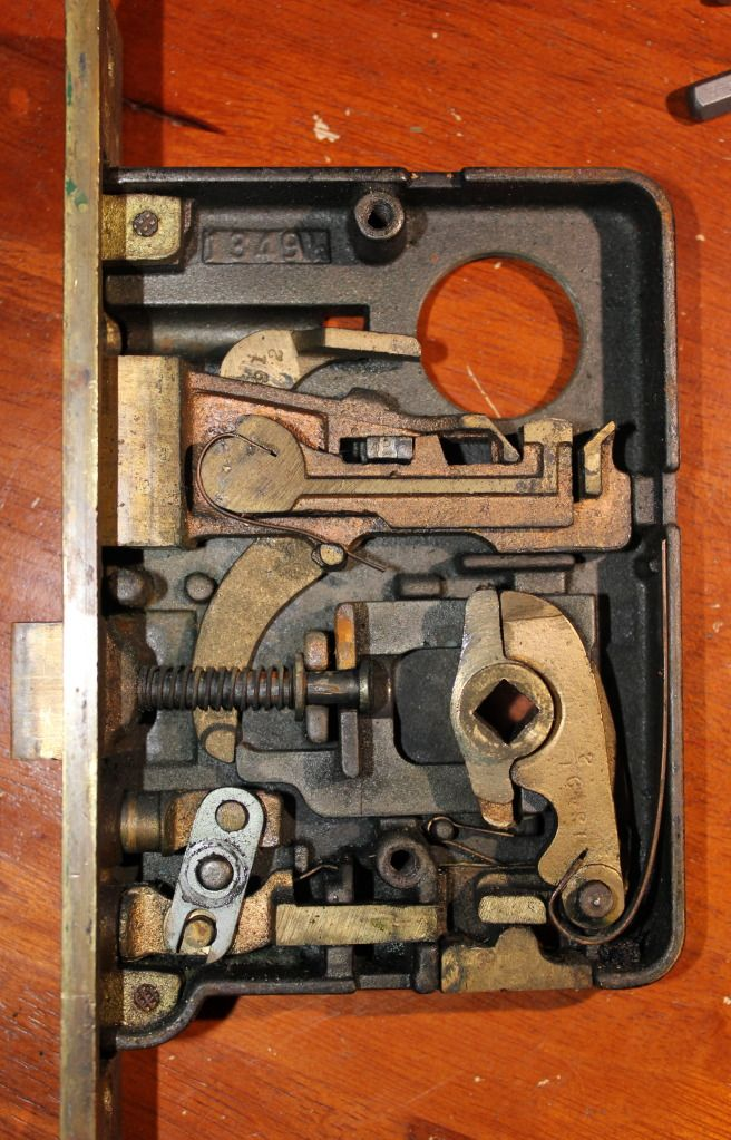 Lock Picking 101 My Corbin Mortise Project Vintage Door Hardware Mortise Lock Mechanical Design